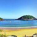 La Concha Bay San Sebastian by Weston Westmoreland