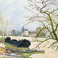 La Crue Du Loing A Moret by Alfred Sisley