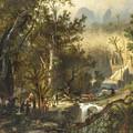 La Cueva Del Guaracho, Venezuela by Ferdinand Bellermann