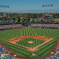 La Dodgers Los Angeles California Baseball by David Haskett II
