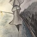 La Femme Au Parapluie by Peter Weinberg