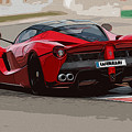 La Ferrari - Rear View by Andrea Mazzocchetti