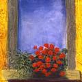 La  Finstra Con  I Fiori by Mary Erbert