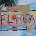 La Florida Flowered Land by Warren Thompson