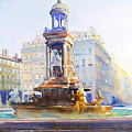 La Fontaine Des Jacobins by Joel Tenzin