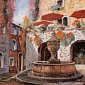 la fontana a St Paul de Vence by Guido Borelli