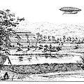La France Airship, 1884 by Granger