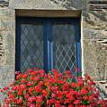 La Gacilly, Morbihan, Brittany, France, Window by Curt Rush