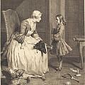 La Gouvernante by Bernard Lepicie After Jean Sim?on Chardin
