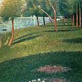 La Grande Jatte by Georges Pierre Seurat