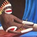 La Grande Sock Monkey by Randy Burns