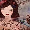 La Jolie Poupee Et L' Oiseau by Anne BAZABIDILA