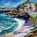 La Jolla Cove by Nancy Isbell