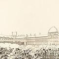 La Journee Du 10 Aout 1792 by Antoine-jean Duclos After Charles Monnet