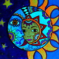 La Luna,el Sol by Pristine Cartera Turkus