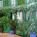La Maison De Claude Monet by Tom Roderick