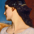 La Nanna. Sunny Hours by Frederic Leighton