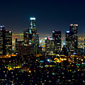 L.a. Night View by Garland Johnson