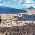 La Paz Cable Car by Jess Kraft