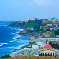 La Perla In Old San Juan by Craig David Morrison