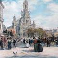 La Place De Trinite by Jean Francois Raffaelli