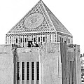 La Public Library Tower Mosaic by Underwood Archives