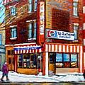 La Quebecoise Restaurant Montreal by Carole Spandau