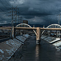 Los Angeles River Autumn 2015 by Ralph King