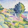 La Route Sur La Cote by Henri-Edmond Cross