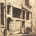 La Rue Des Mauvais Gar?ons, Paris (the Street Of The Bad Boys) by Charles Meryon