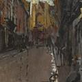 La Rue St Jacques Dieppe by Celestial Images