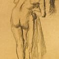 La Toilette Apres Le Bain by Edgar Degas