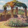 La Tonelle De L'angle Nord-ouest Du Parc De Marquayrol by Henri Martin