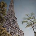 La Tour Eiffel 2 by Andy Lloyd