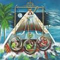 La Virgen De La Caridad Del Cobre En Miami by Roger Calle