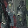 Laboheme Act 1 Stairway by Bill Collins