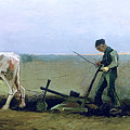 Labourer And Peasant  by Vincent van Gogh