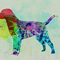 Labrador Retriever Watercolor by Naxart Studio