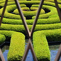 Labyrinth At The Getty by Clayton Bruster