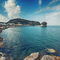 Lacco Ameno Harbour ,  Ischia Island by Ariadna De Raadt