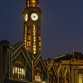 Lackawanna Clock Tower by Jerry Fornarotto