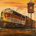 Lackawanna Fast Freight by Christopher Jenkins