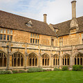 Lacock Abbey Cloisters 2 by Clare Bambers