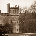 Lacock Abbey Octagonal Tower Square by Clare Bambers