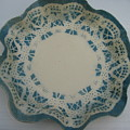 Lacy Platter by Julia Van Dine