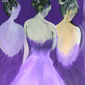Ladies In Purple by Robert Lee Hicks