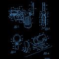 Ladies Pistol Compact Patent Art by Lesa Fine