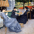 Ladies Sewing by Gustave Caillebotte