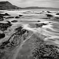 Ladram Bay In Devon by Pete Hemington