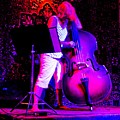 Lady And Her Bass by Barbara Kelley
